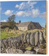 Ancient Welsh Church Wood Print