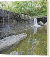Anderson, Falls, Indiana Wood Print