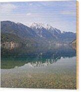 Anderson Lake Reflection Wood Print