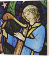 Angel Musician, 1881 Wood Print