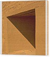 Angles Wood Print