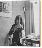 Angus Young Ac/dc Wood Print