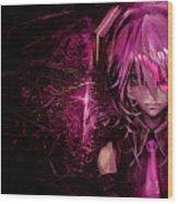 Anime Wood Print
