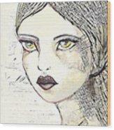 Annabel 2 Wood Print