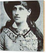 Annie Oakley Wood Print