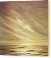 Another Golden Sunset Wood Print