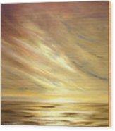 Another Golden Sunset Wood Print