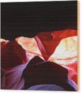 Antelope Slot Canyon - Astounding Range Of Colors Wood Print