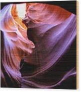 Antelope Slot Canyons Wood Print