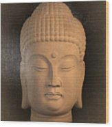 antique oil effect Buddha Korean ,, Wood Print