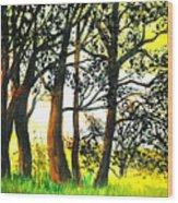 Arbutus Wood Print