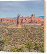 Arches National Park  Moab  Utah  Usa Wood Print