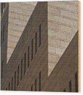 Architecture Wood Print