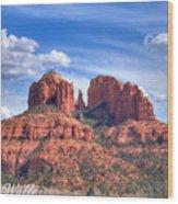 Arizona-sedona-red Rock State Park Wood Print