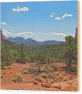 Arizona-sedona-soldier's Pass Trail Wood Print
