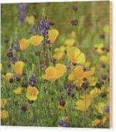 Arizona Wildflowers  Wood Print