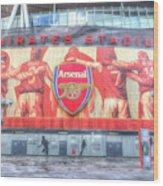 Arsenal Football Club Emirates Stadium London Wood Print