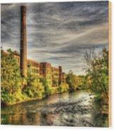 Ashton Mill, Cumberland, Ri Wood Print