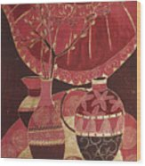 Asian Still Life Wood Print