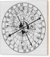 Astronomical Clock Wood Print