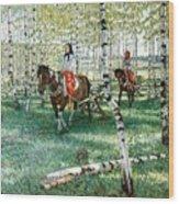 At Work Nikolai Petrovich Bogdanov-belsky Wood Print