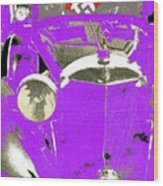 Auction Sale Of Adolf Hitler's Model 770-k 1941 Mercedes-benz Touring Car In Scottsdale Az 1973 Wood Print