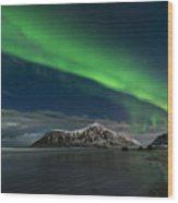 Aurora Borealis, Northern Lights Wood Print