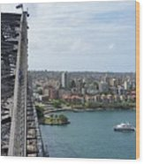 Australia - Kirribilli And Sydney Harbour Bridge Wood Print