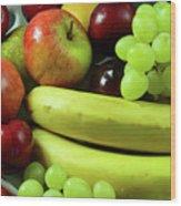 Autumn Fruits. Wood Print
