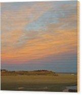 Autumn Sunset At Good Harbor Wood Print