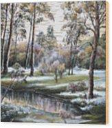 Autumnal Time.  Wood Print