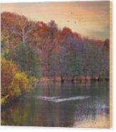Autumn's Allure Wood Print