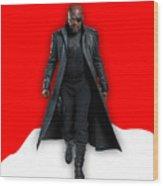 Avengers Nick Fury Collection Wood Print