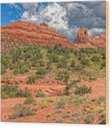 Az-sedona-schnebly Hill Rd-huckaby Trail Wood Print
