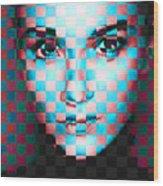 Good Pixels Wood Print