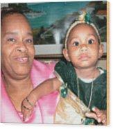 Bahama Mama In Atlantis Wood Print