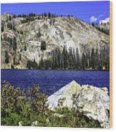 Baker Lake, Idaho Wood Print