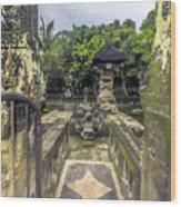 Bali Temple Wood Print