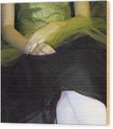 Ballerina Lap 2 Wood Print