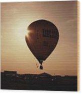 Balloon Wood Print