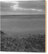Ballyconnigar Strand At Dawn Wood Print