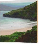 Ballymastocker Bay Wood Print