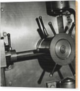 Bank Vault Wood Print