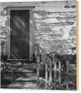 Bannish Home - 1900's Wood Print