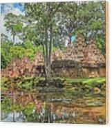 Banteay Srei Temple - Cambodia Wood Print