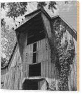 Barn In Kentucky No 66 Wood Print