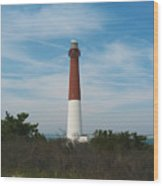Barnegat Lighthouse - New Jersey Wood Print