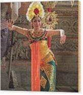 Barong Dancer Wood Print