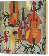 Baroque 1 Wood Print