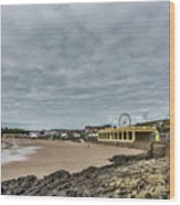Barry Island Wood Print